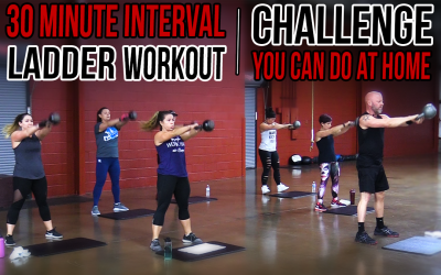 30 Minute Interval Ladder Workout Challenge You Can Do At Home