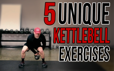 5 Unique Kettlebell Exercises