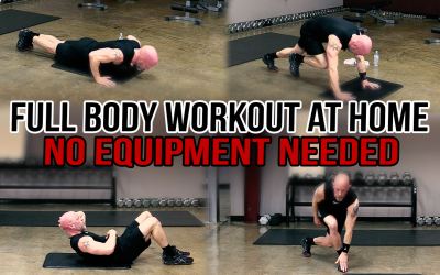 Full Body Workout at Home – No Equipment Needed
