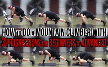How to Do a Mountain Climber with 3 Progressions for Beginners to Advanced