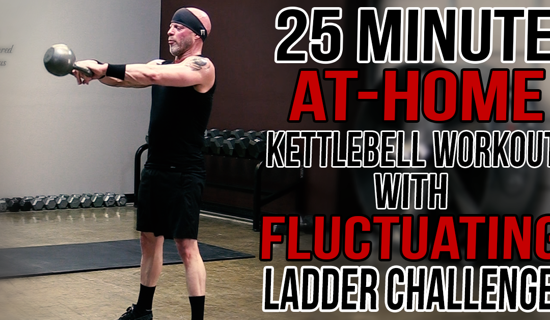 25-Minute Fluctuating Ladder Challenge Workout