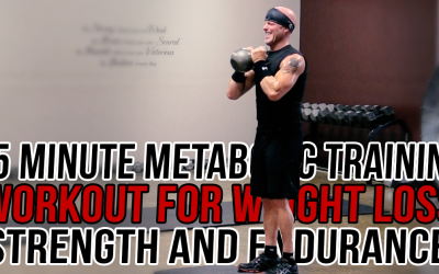 35 Minute At-Home Metabolic Training Workout for Weight Loss, Strength and Endurance!