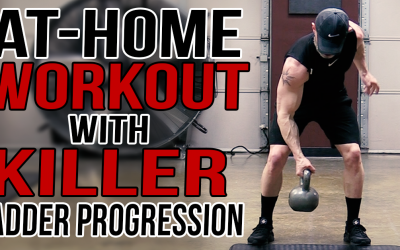 At-Home Workout with Tough Ladder Progression